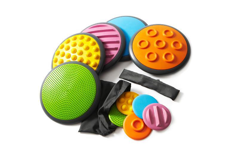 Gonge Taktil Diskler - Tactile Discs 5'li Light Set