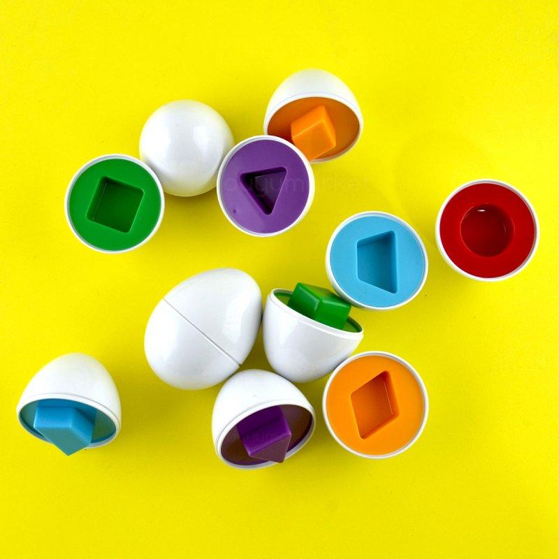 Şekilli Yumurtalar Geometrik Şekiller